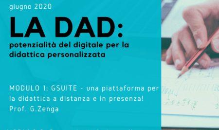La DaD: potenzialità del digitale per la didattica personalizzata