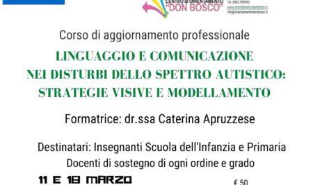 Linguaggio e comunicazione nei disturbi dello spettro autistico: strategie visive e modellamento